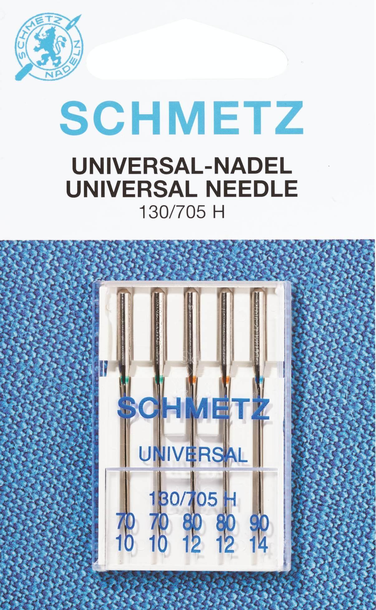 für Normale Stoffe 20 Schmetz Nadeln System 130-90 14 Nähmaschinen