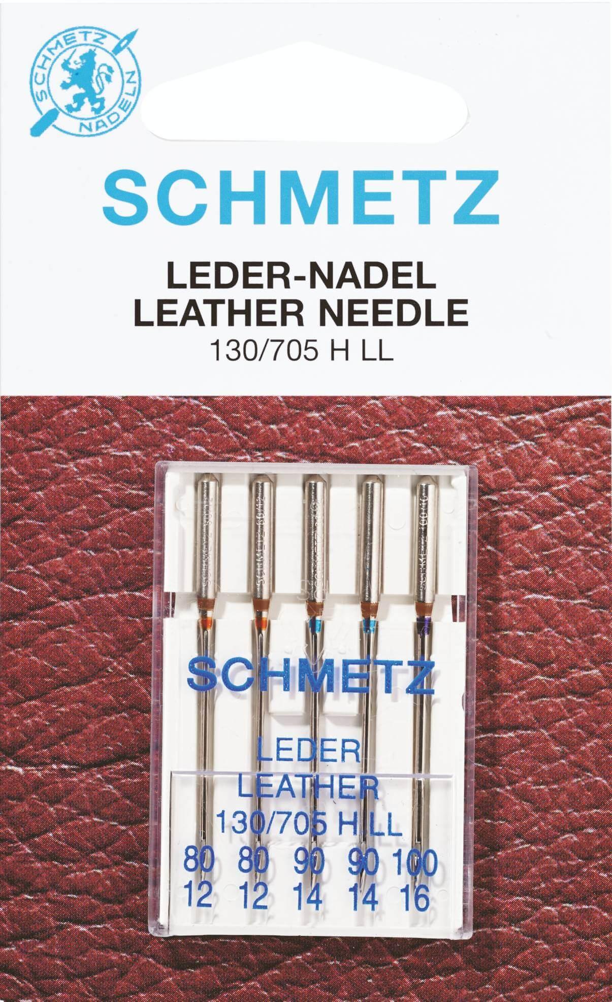 10 Schmetz Universal-Nadeln Stärke 80 für Nähmaschinen