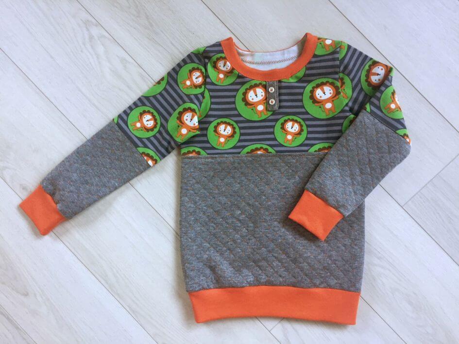 Anleitung im Check: Shirt mit Knopfleiste von Sara & Julez ...
